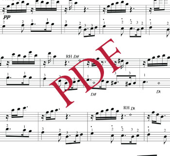 Downloadable sheet music (PDF)